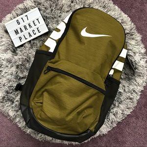 NEW Nike Brasilia Medium Packpack Olive Green